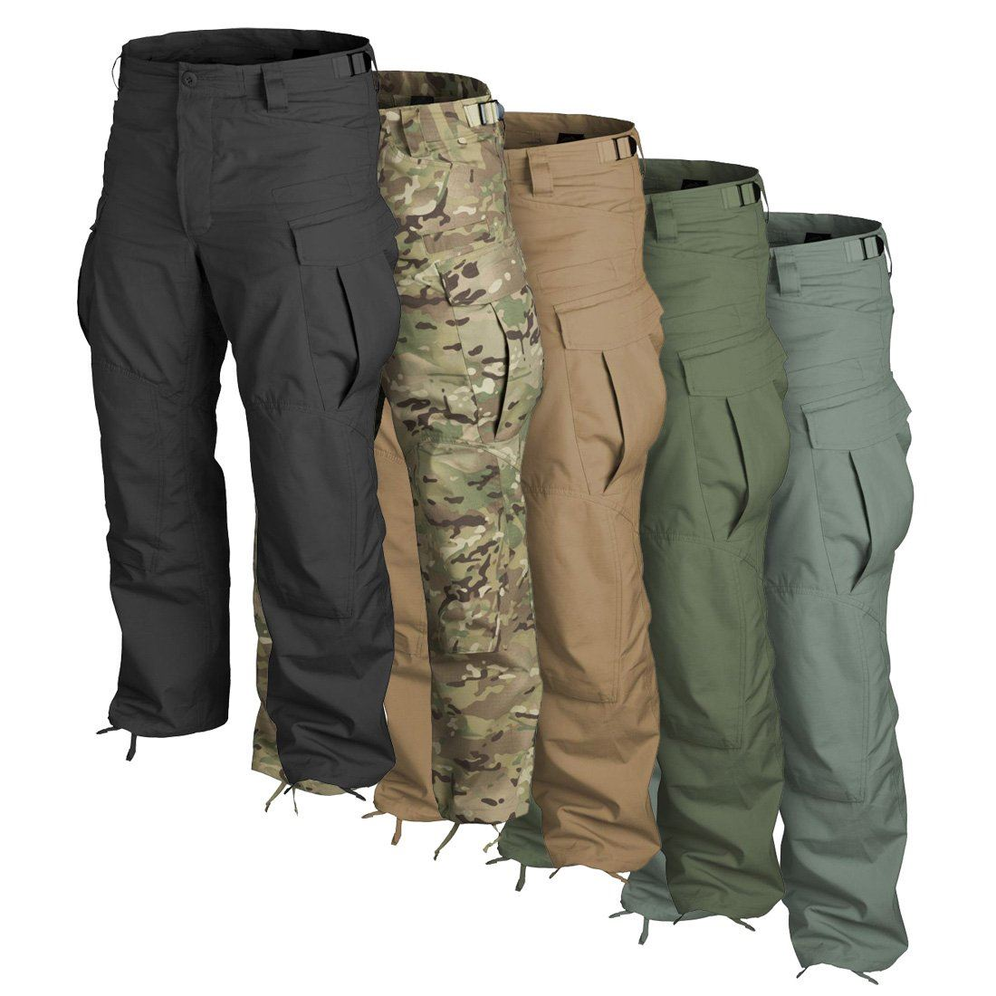 Based on the classic Special Forces Uniform (SFU) design, the SFU NEXT trousers are made of durable and hard-wearing cotton Ripstop material and feature 9 easy accessible pockets, reinforced seat and knees, knee pads compartments, adjustable waist and cuffs, and D-rings for optional attachments/5(2).