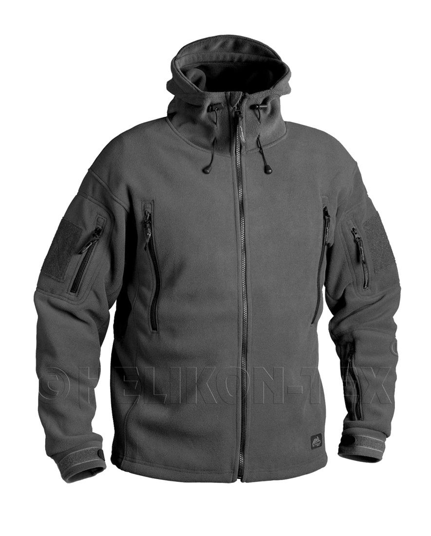 HELIKON PATRIOT SOFTSHELL TACTICAL JACKET DOUBLE FLEECE SECURITY
