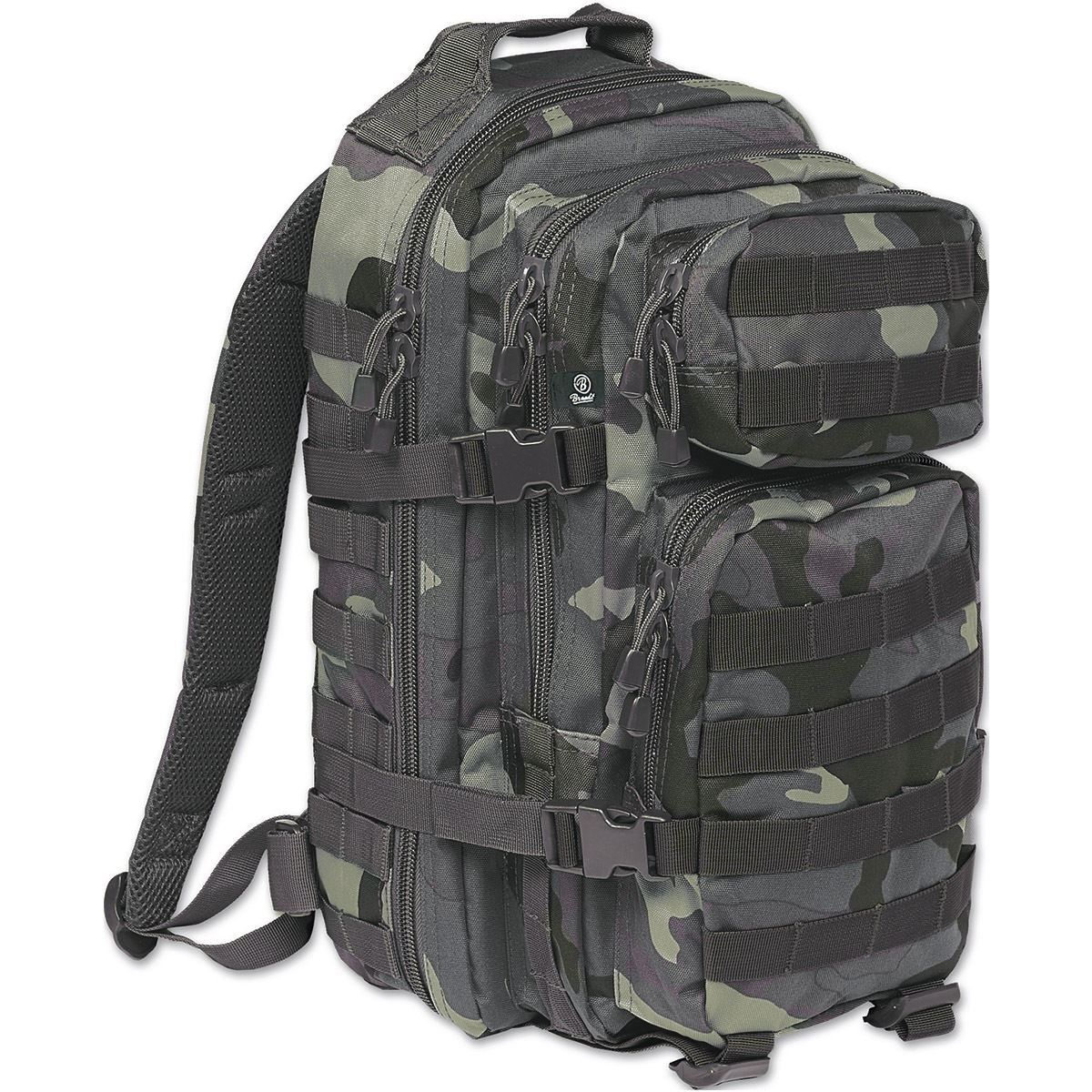 BRANDIT US COOPER MEDIUM RUCKSACK MOLLE BACKPACK ARMY NYLON PACK