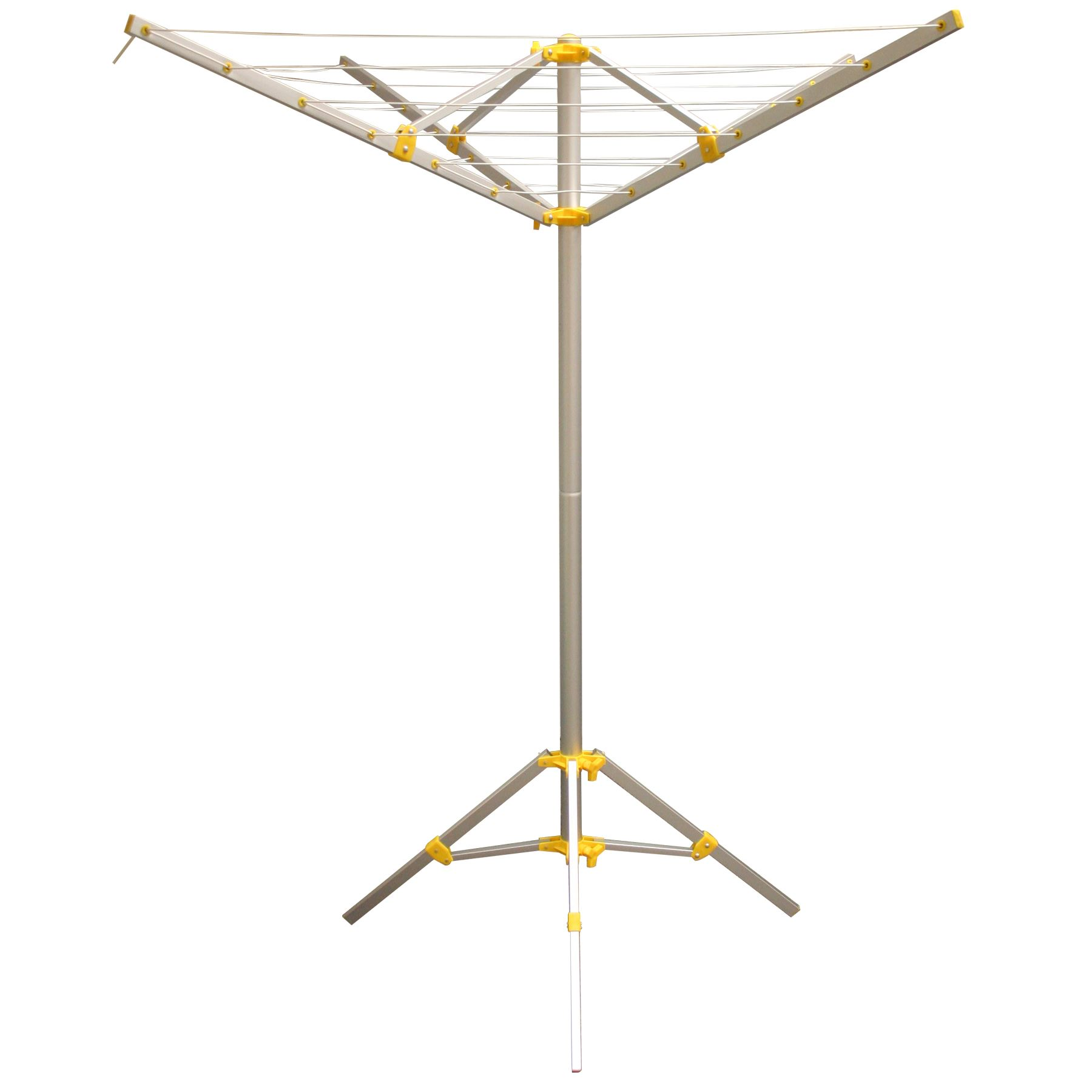 4 arm rotary clothes airer free standing washing line. Black Bedroom Furniture Sets. Home Design Ideas