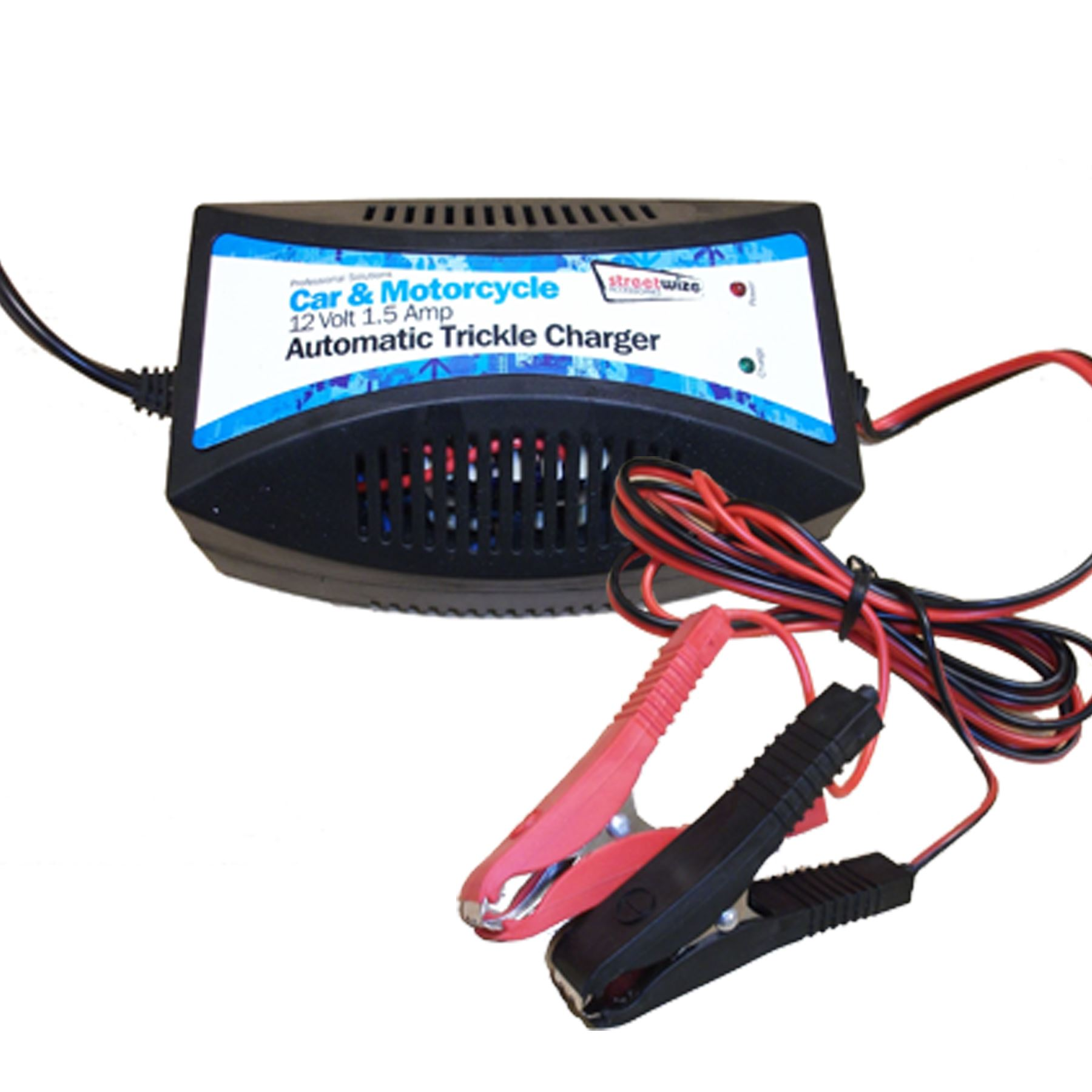 12v Trickle Battery Charger Electric Winter Car Motorcycle