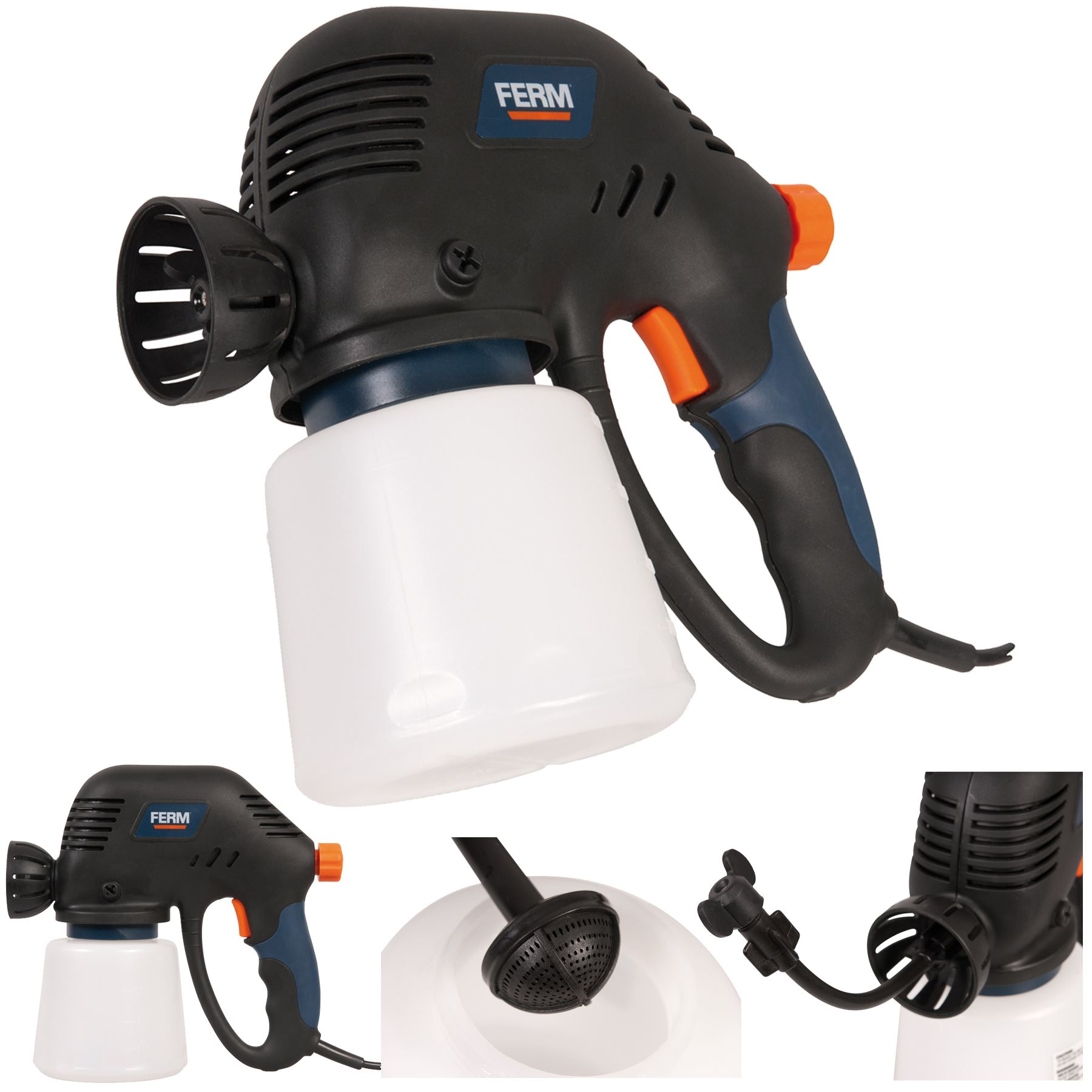 electric paint airless spraygun sprayer spray gun fence. Black Bedroom Furniture Sets. Home Design Ideas