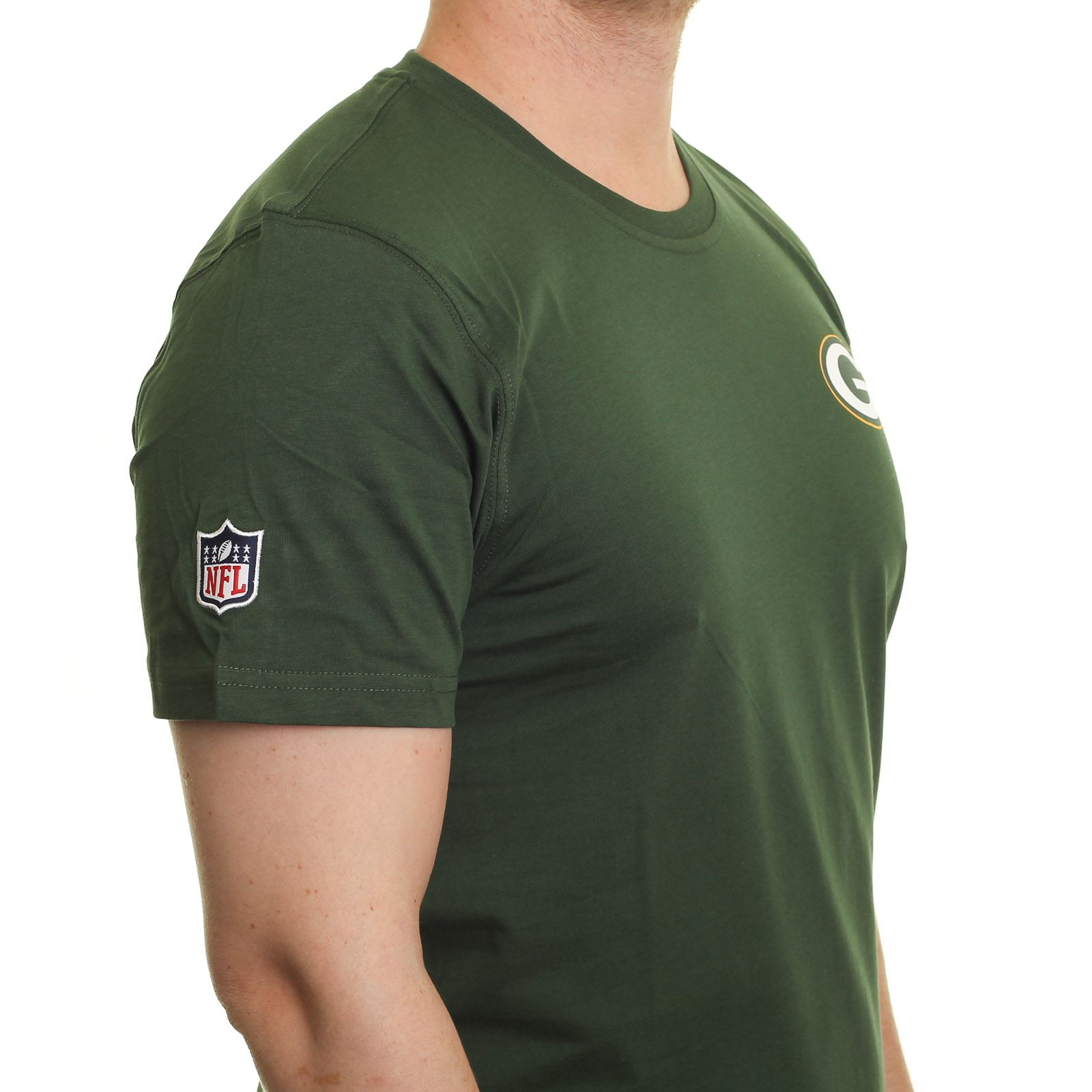 New-Era-Team-Apparel-T-Shirt-Green-Bay-Packers