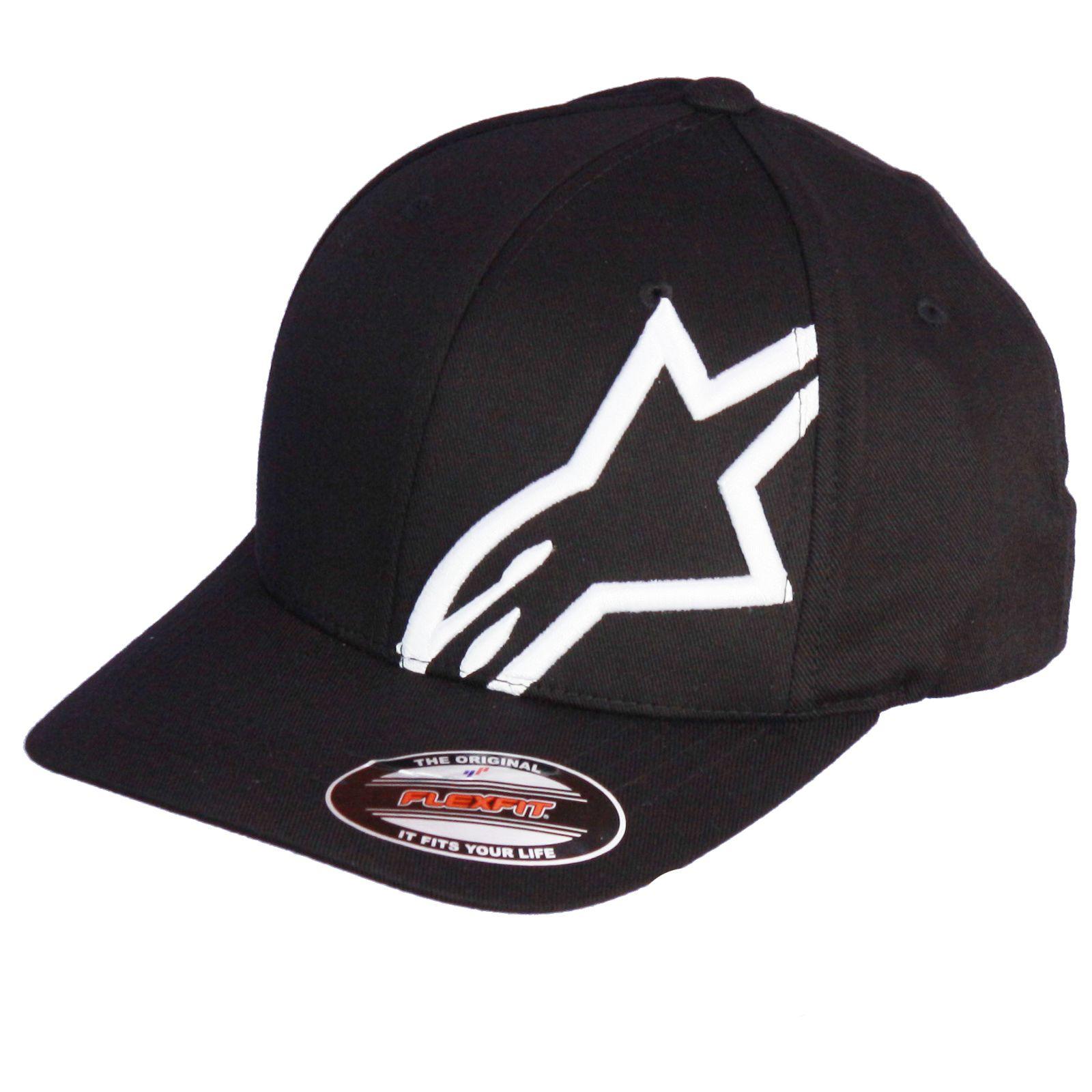 Alpinestars-Medium-Curve-Flexfit-Cap-Corp-Shift2-Flexfit-Black