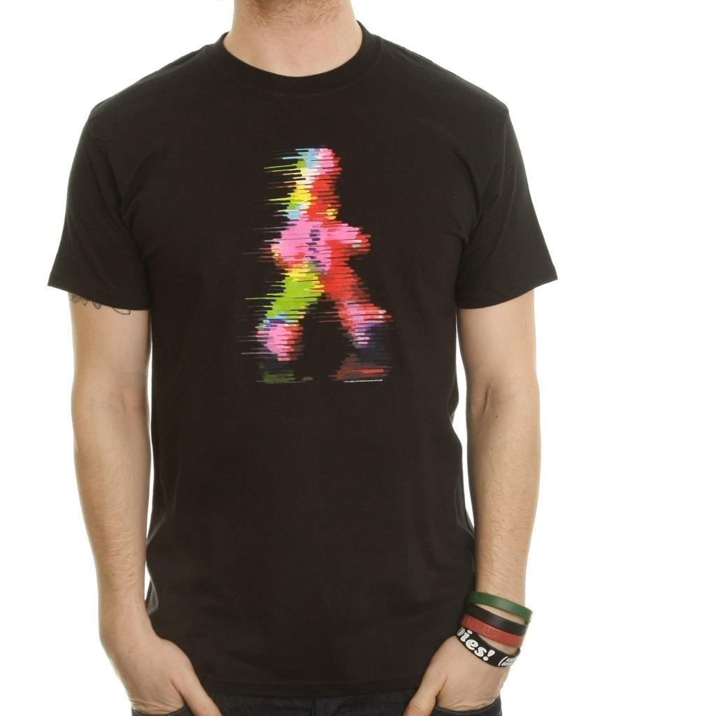 Black t shirt xl - Coldplay T Shirt Blurred Man Size Xl