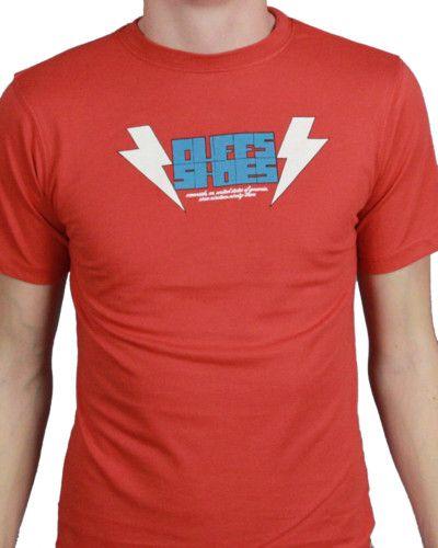 Duffs Chicos T-shirt - Zapatos Rojos