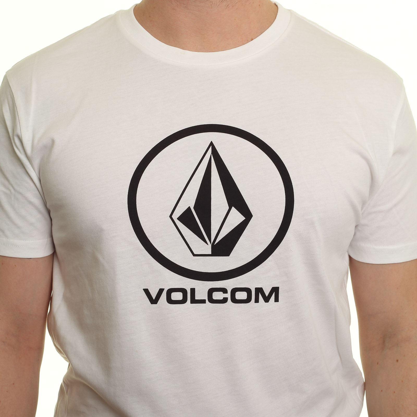 T-shirt-Volcom-bianco-Circlestone
