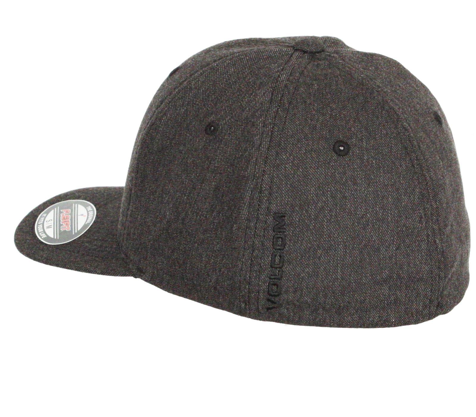 5656bb9a7fb4e Volcom Flexfit Curve Cap ~ Full Stone Heather Xfit chh