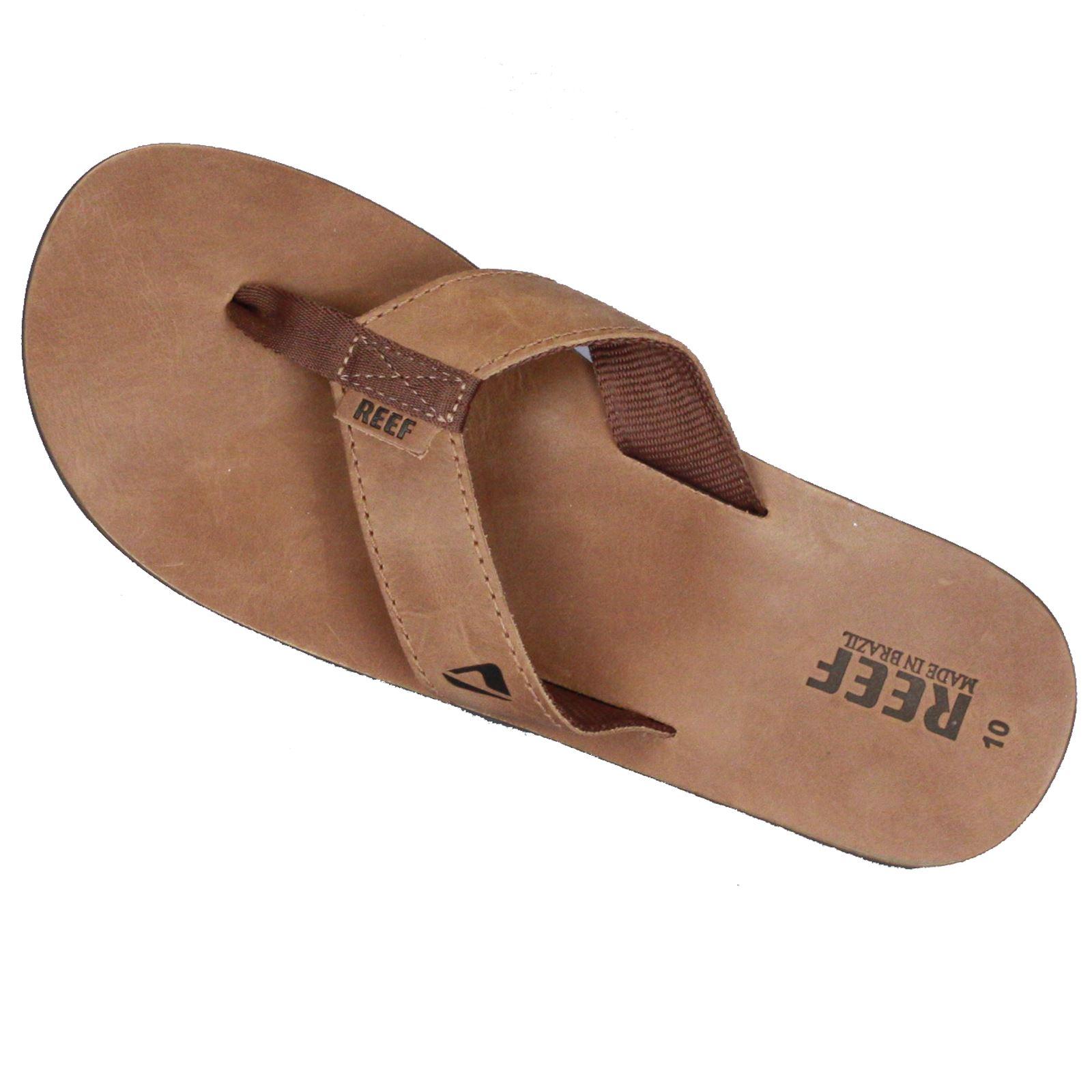 Reef Mens Premium Leder Sandale ~ Leder Smoothy