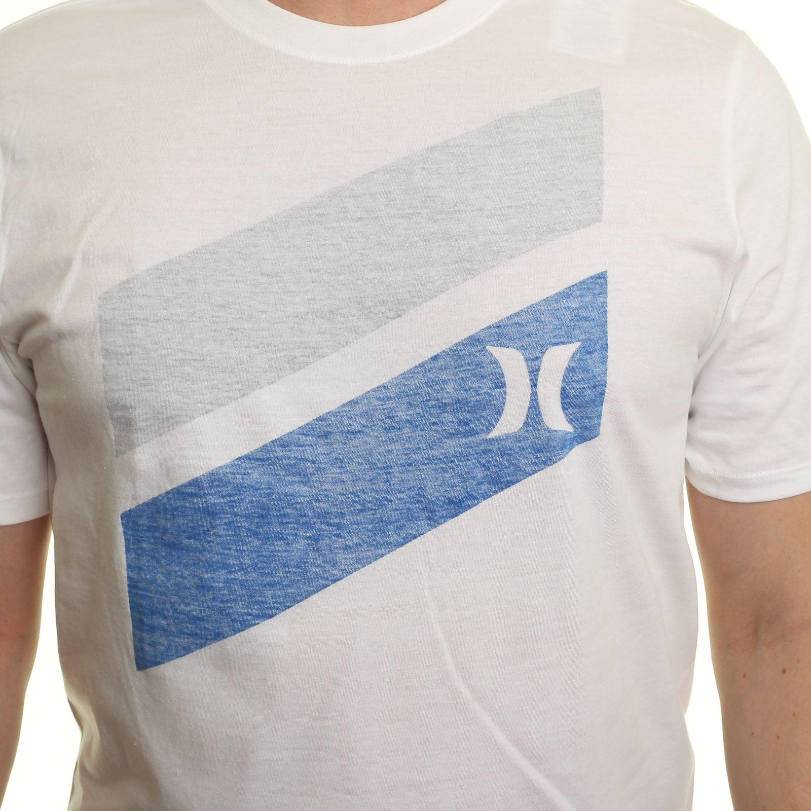 Hurley T-Shirt  Slash Push-Through weiß | Verschiedene Stile und und und Stile  | Feinbearbeitung  f1c30d