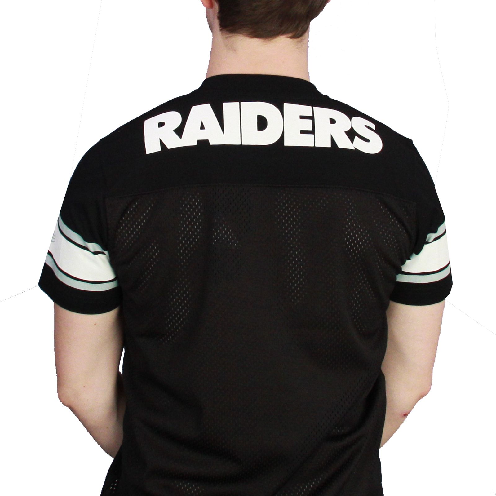 3f869af81 New Era NFL Supporters Jersey T-Shirt ~ Oakland Raiders