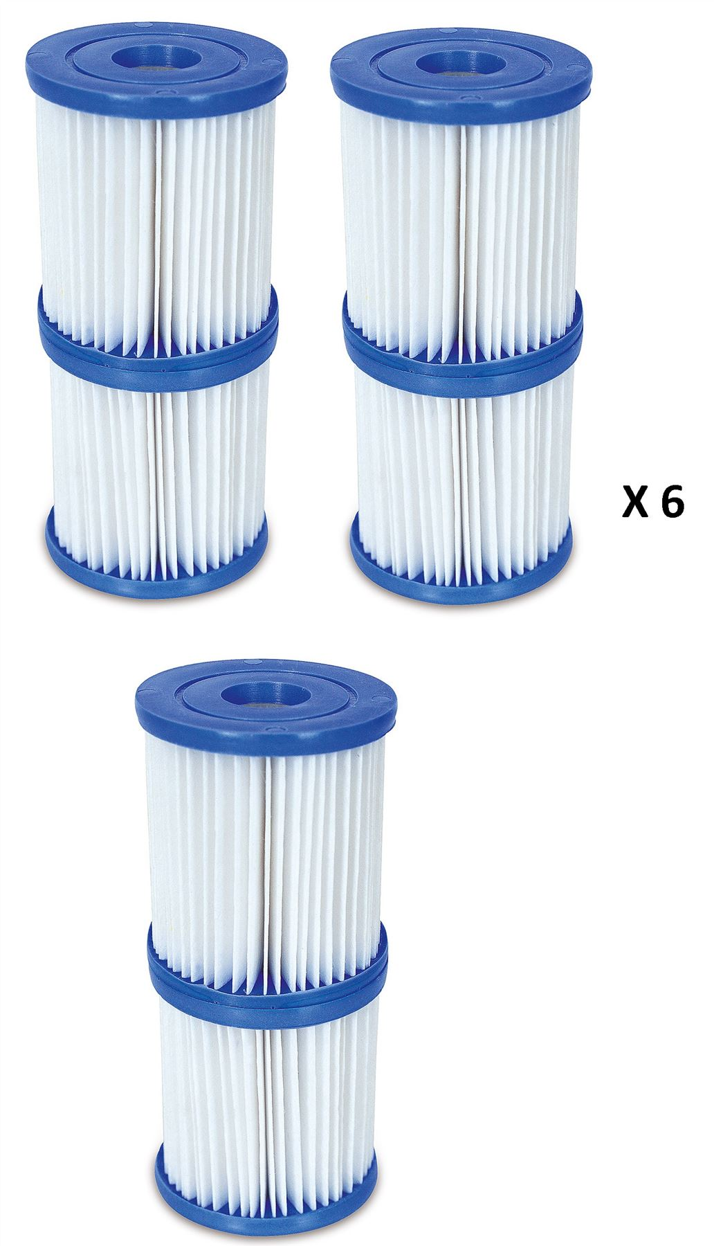 Bestway size i swimming pool lay z spa hot tub filter for Paddling pool filter