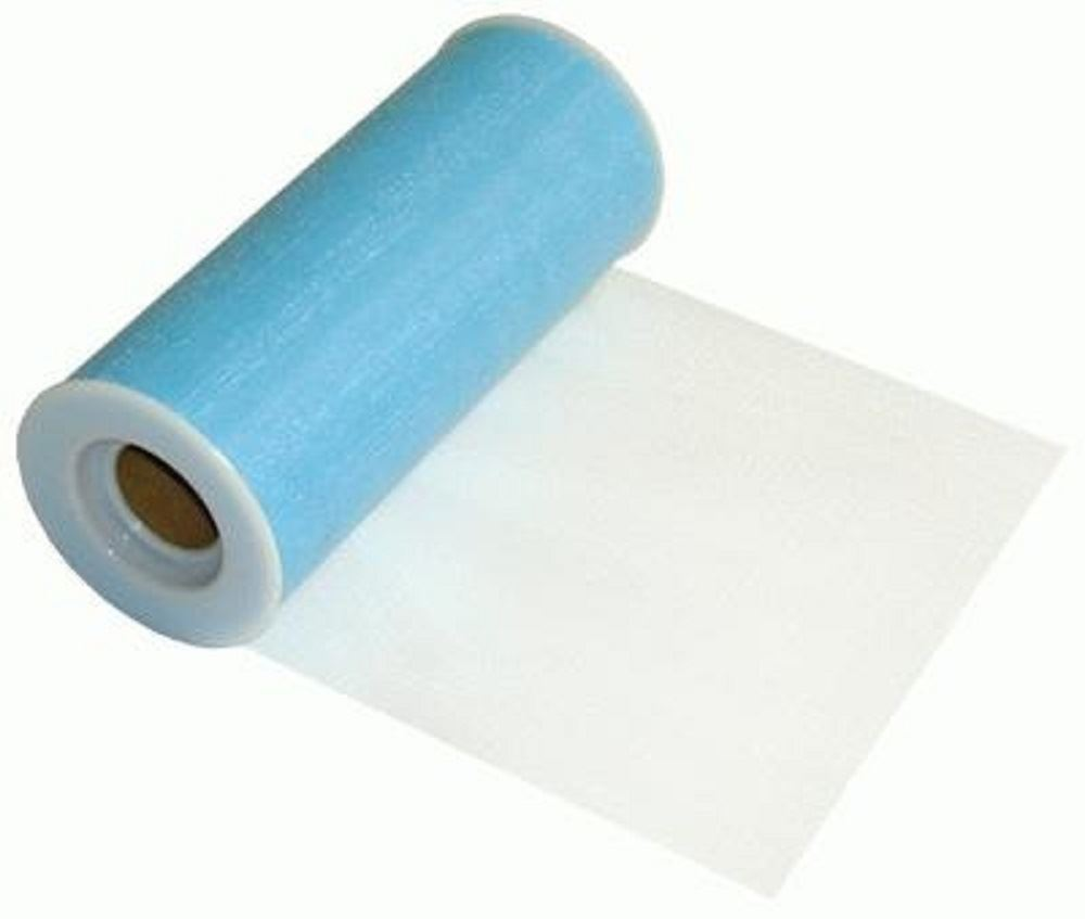 TULLE-FINESSE-FABRIC-RIBBON-ROLL-FOR-WEDDINGS-amp-CRAFTS-6inch-x-25yards