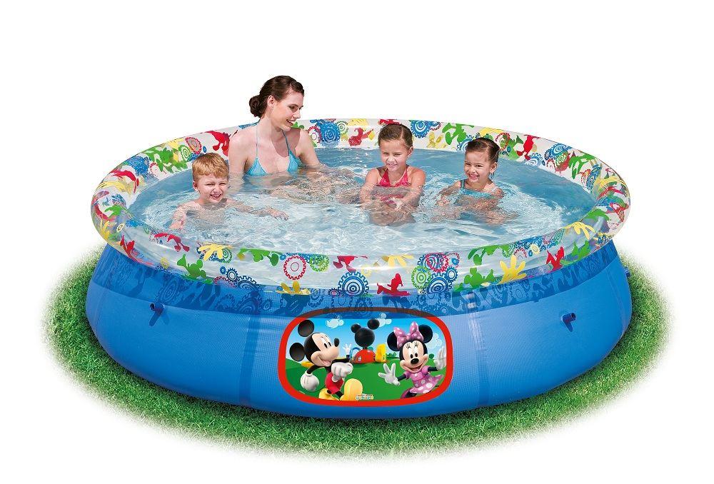 Bestway Disney Character Inflatable Swimming Pool Childrens Kids Paddling Pool