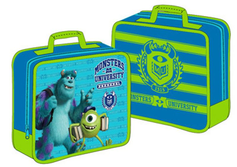 KIDS CHARACTER INSULATED LUNCH BAG SCHOOL BAG FUN FOOD PICNIC BOX