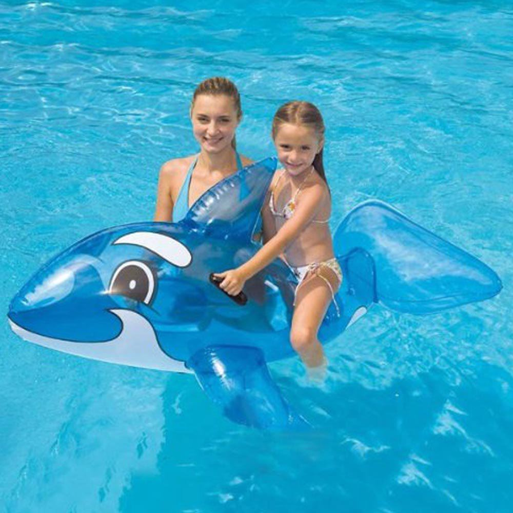 Product details of new inflatable floating swim ring kids children toy - 62 Inch Childrens Inflatable Whale Ride On Swimming Pool Beach Lilo Float Toy