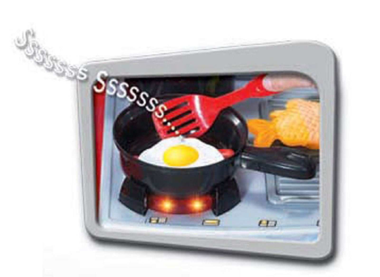 Electronic lights and sounds childrens kids pretend play for Electronic kitchen set