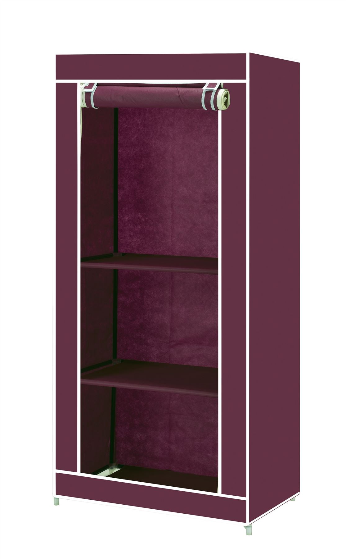 simple toile v tements organisateur de stockage penderie armoire tag re tag res ebay. Black Bedroom Furniture Sets. Home Design Ideas