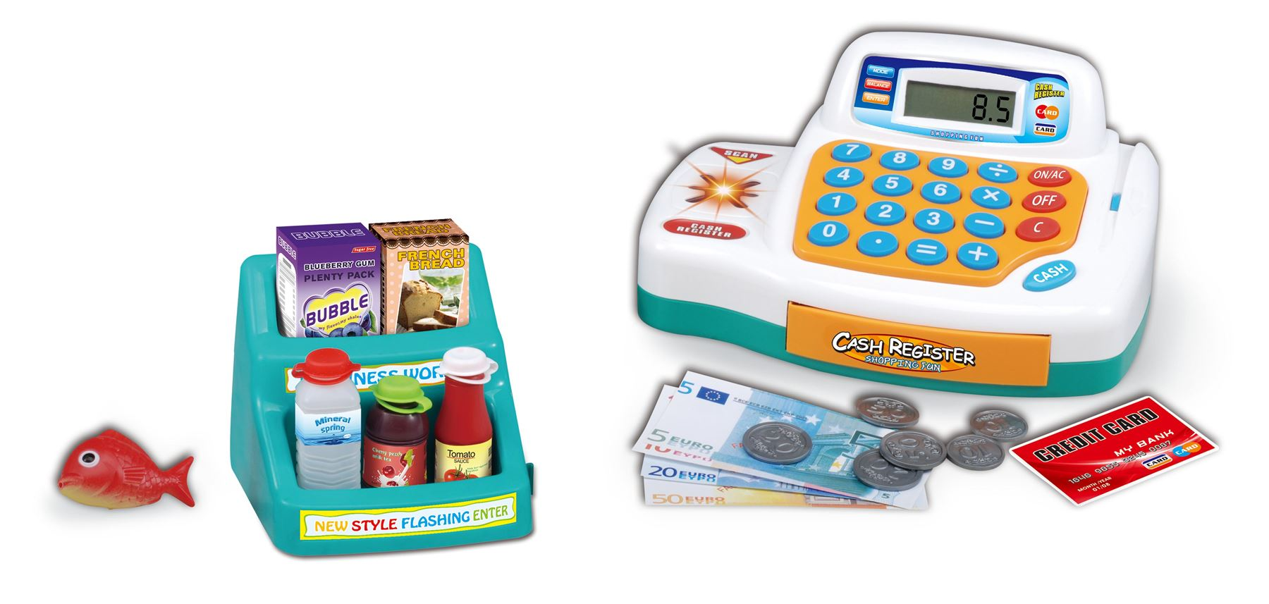 play food & shopping toys. With our range of shopping toys your child can take on the role of committed shopkeeper and supply the family with those vital everyday essentials with a smile and a giggle. Help develop your child's understanding of money and improve their .
