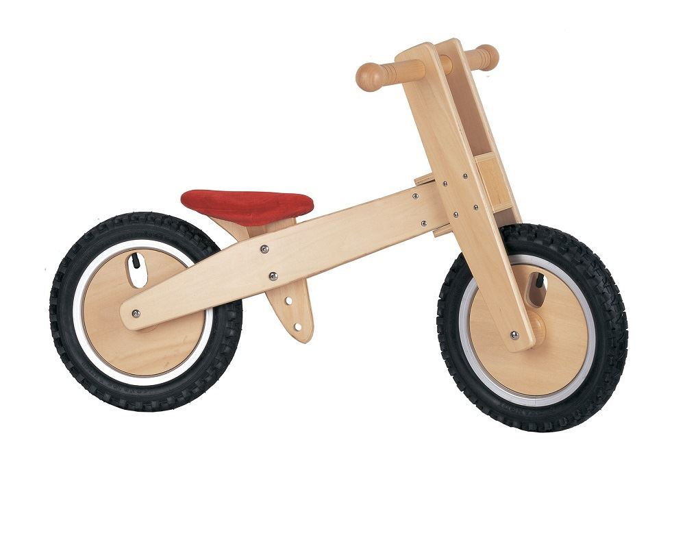 Lelin wooden wood balancing balance bicycle childrens kids Outdoor bicycle