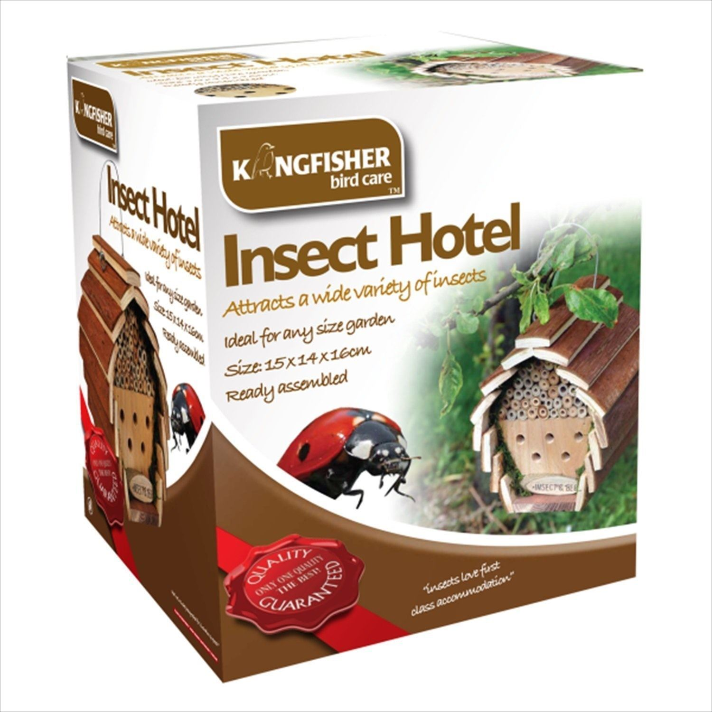 WOODEN GARDEN BEE INSECT BIRD SQUIRREL HOTEL HOUSE HOME FEEDER FEEDING STATION