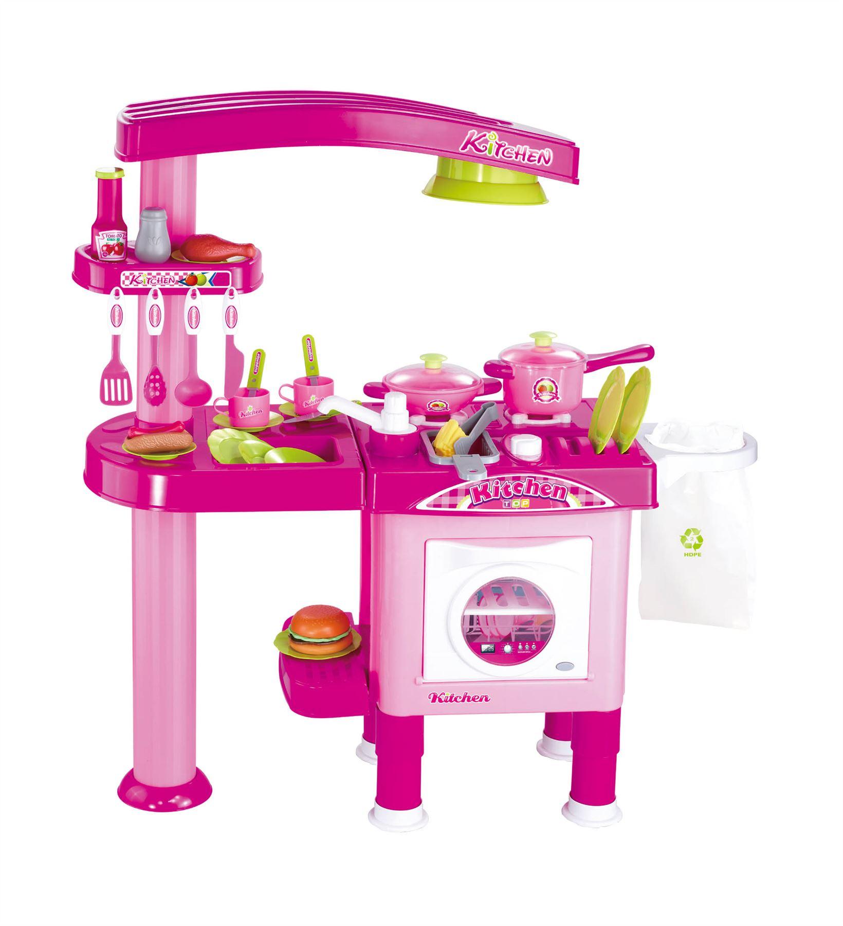 Oven Kitchen Set: Vinsani Childrens Kids Pretend Play Dishwasher & Oven