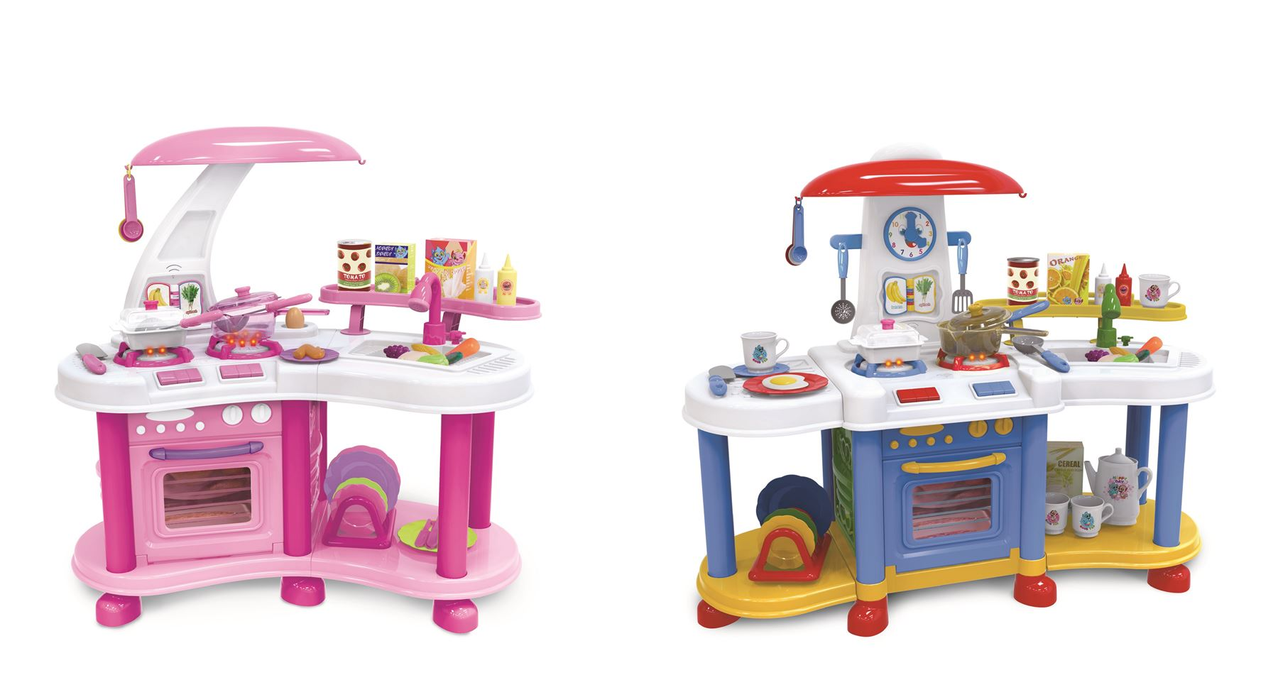 Vinsani Pretend Play Little Kitchen Food Cooking Gas Oven