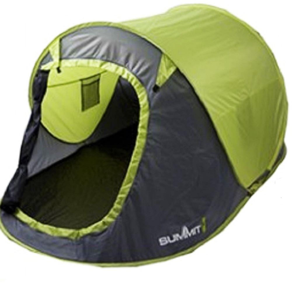 Summit Waterproof 2 Man Pop Up Outdoor Garden Festival C&ing Beach Pitch Tent  sc 1 st  eBay & pop up tents collection on eBay!