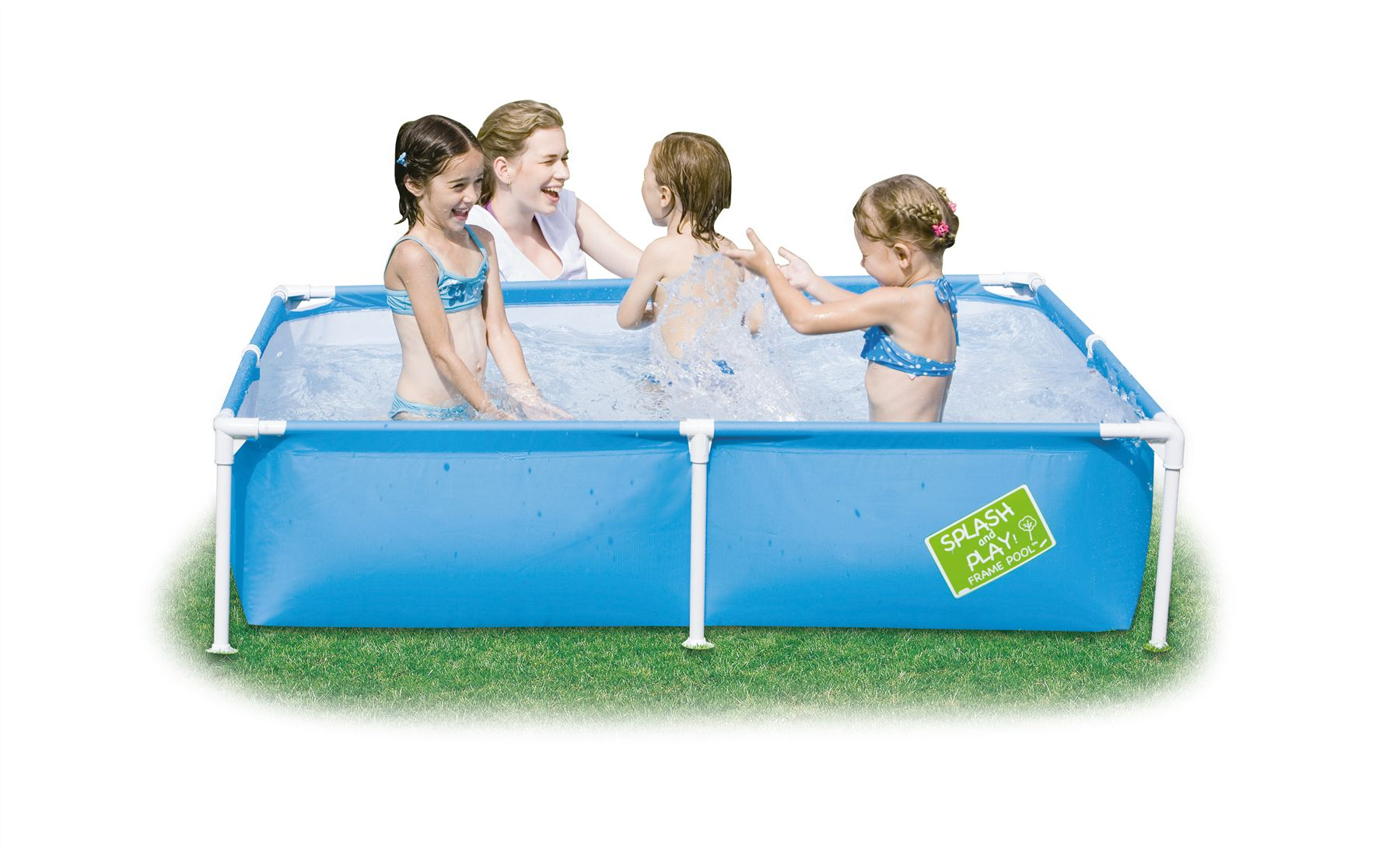 Bestway my first frame swimming paddling pool childrens for Best children s paddling pool