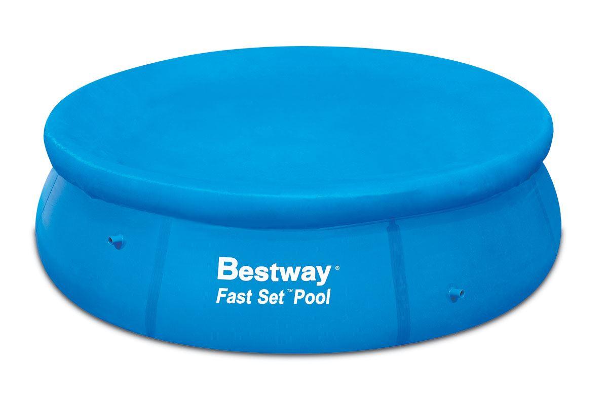 8ft 10ft 12ft fast set swimming paddling pool tarpaulin for Obi fast set pool