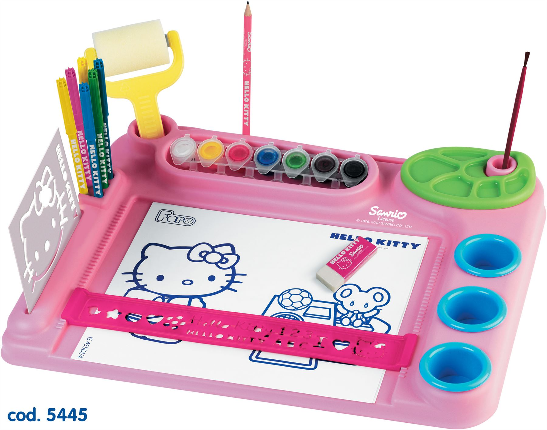 Hello Kitty Childrens Art Painting Drawing Colouring Desk