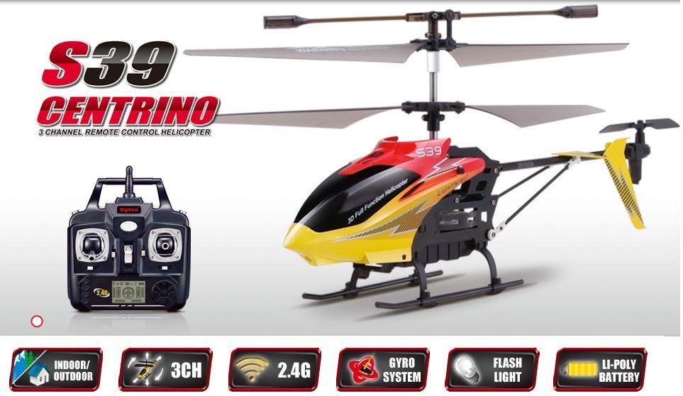Máy bay trực thăng điều khiển từ xa S39 (Trắng) - Chuyên cung  cấp Máy bay trực thăng điều khiển từ xa S39 (Trắng) trên toàn quốc.