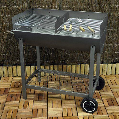 demi tonneau jardin ext rieur anthracite r glable oil drum. Black Bedroom Furniture Sets. Home Design Ideas