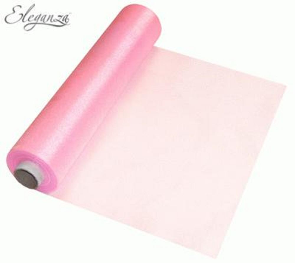 Roll Of Organza Soft Sheer 29cm X 25m Fabric Wedding Table