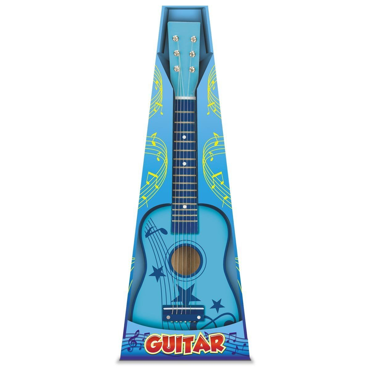 toyrific wooden wood childrens kids girls boys 23 guitar musical instrument. Black Bedroom Furniture Sets. Home Design Ideas