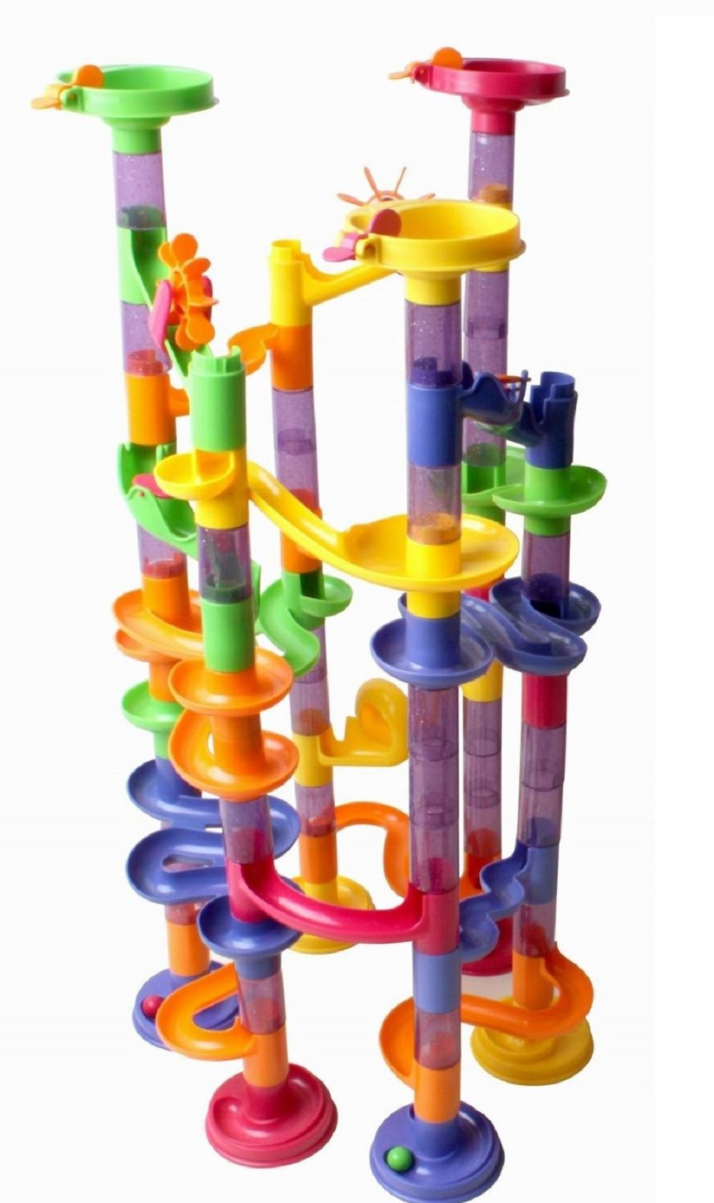 Marble Toys Blocks : Marble run race construction childrens kids building