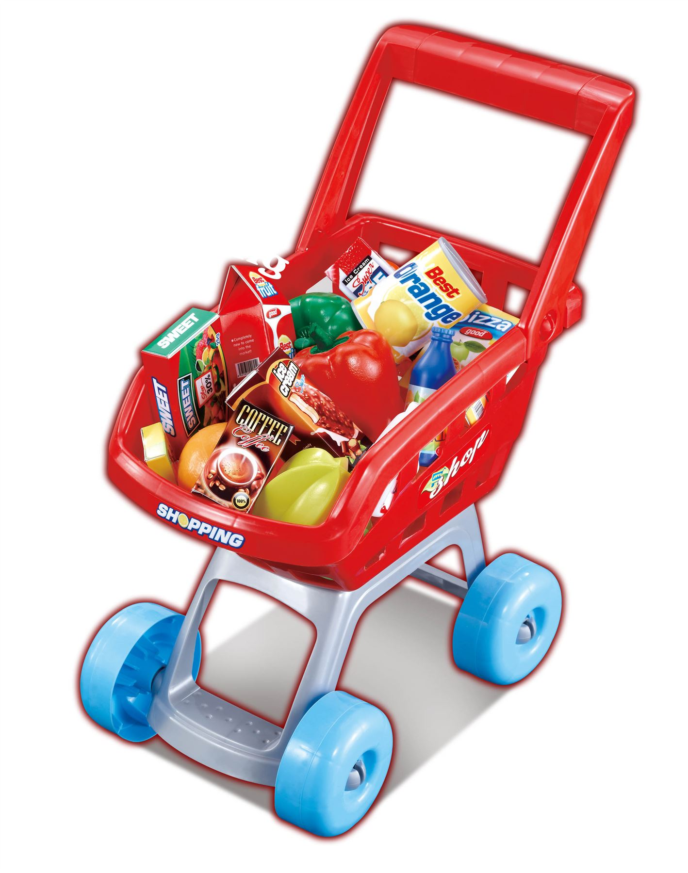 Childrens Kids Pretend Play Supermarket Food Grocery Shopping