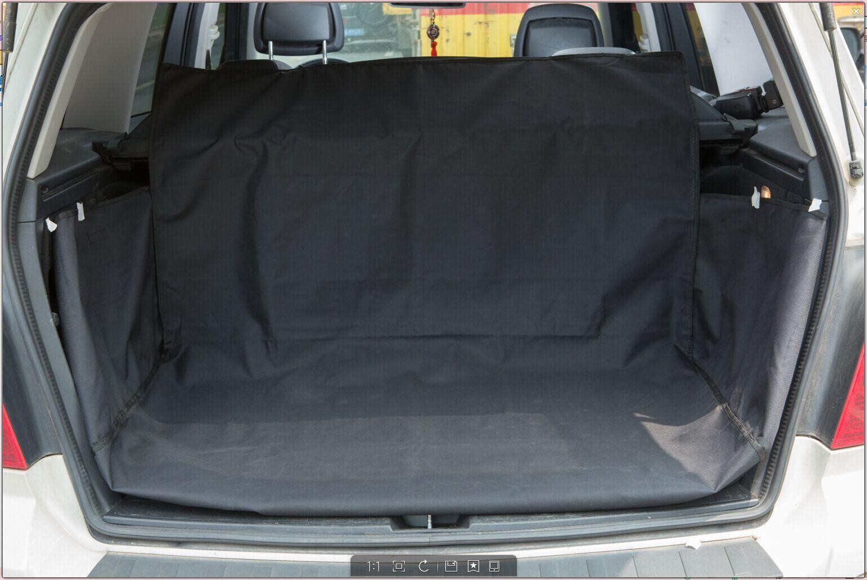 vinsani waterproof 2 in 1 car back seat boot cover pet dog protector mat liner. Black Bedroom Furniture Sets. Home Design Ideas