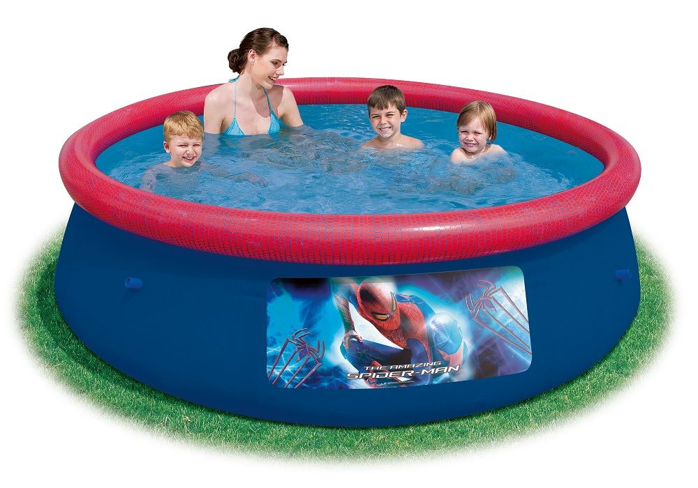 Bestway disney character inflatable swimming pool childrens kids paddling pool for Kids inflatable swimming pools