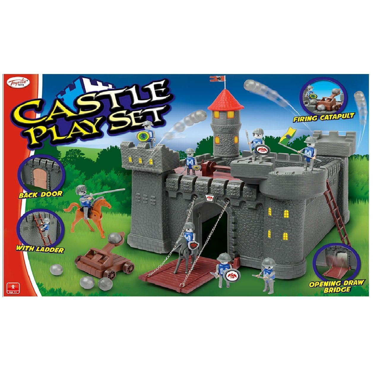 Toy Castle Show : Toyrific childrens pretend play castle ship boat knight
