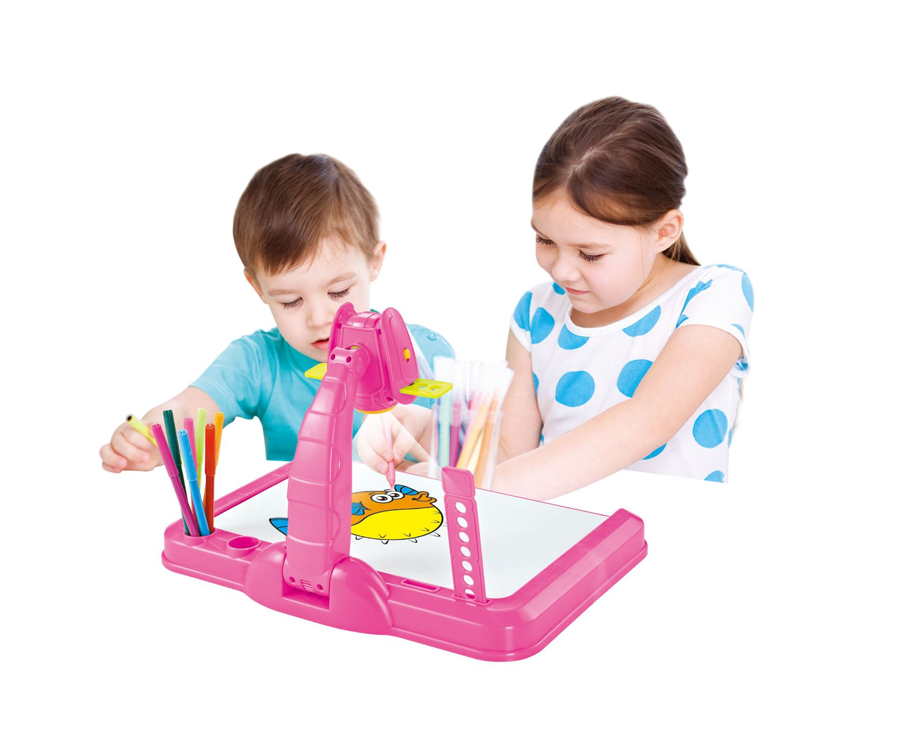 Vinsani Childrens Projector Colouring Amp Learning Activity