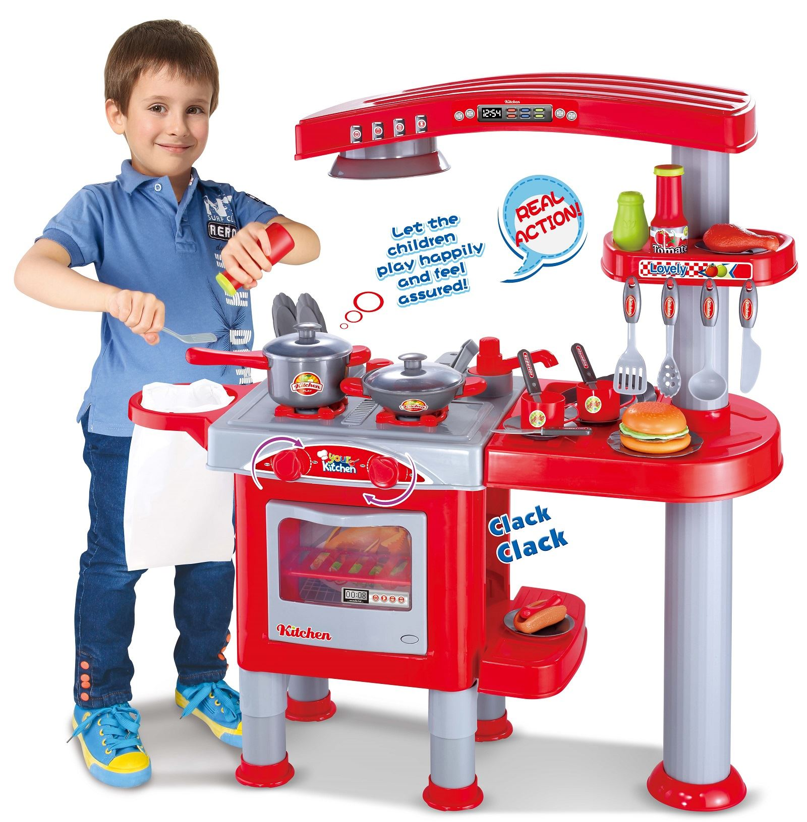 Vinsani Childrens Kids Pretend Play Dishwasher Oven Combo Kitchen Play Set Ebay