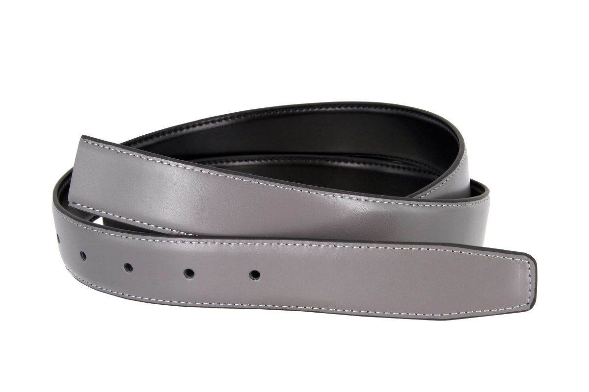 reversible dress belt genuine leather 1 1 8 quot wide