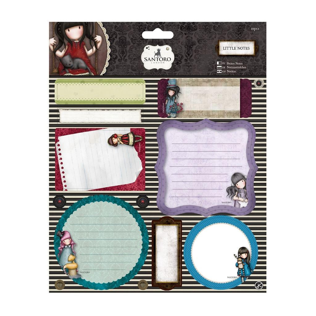 santoro london gorjuss design paper scrapbook craft. Black Bedroom Furniture Sets. Home Design Ideas