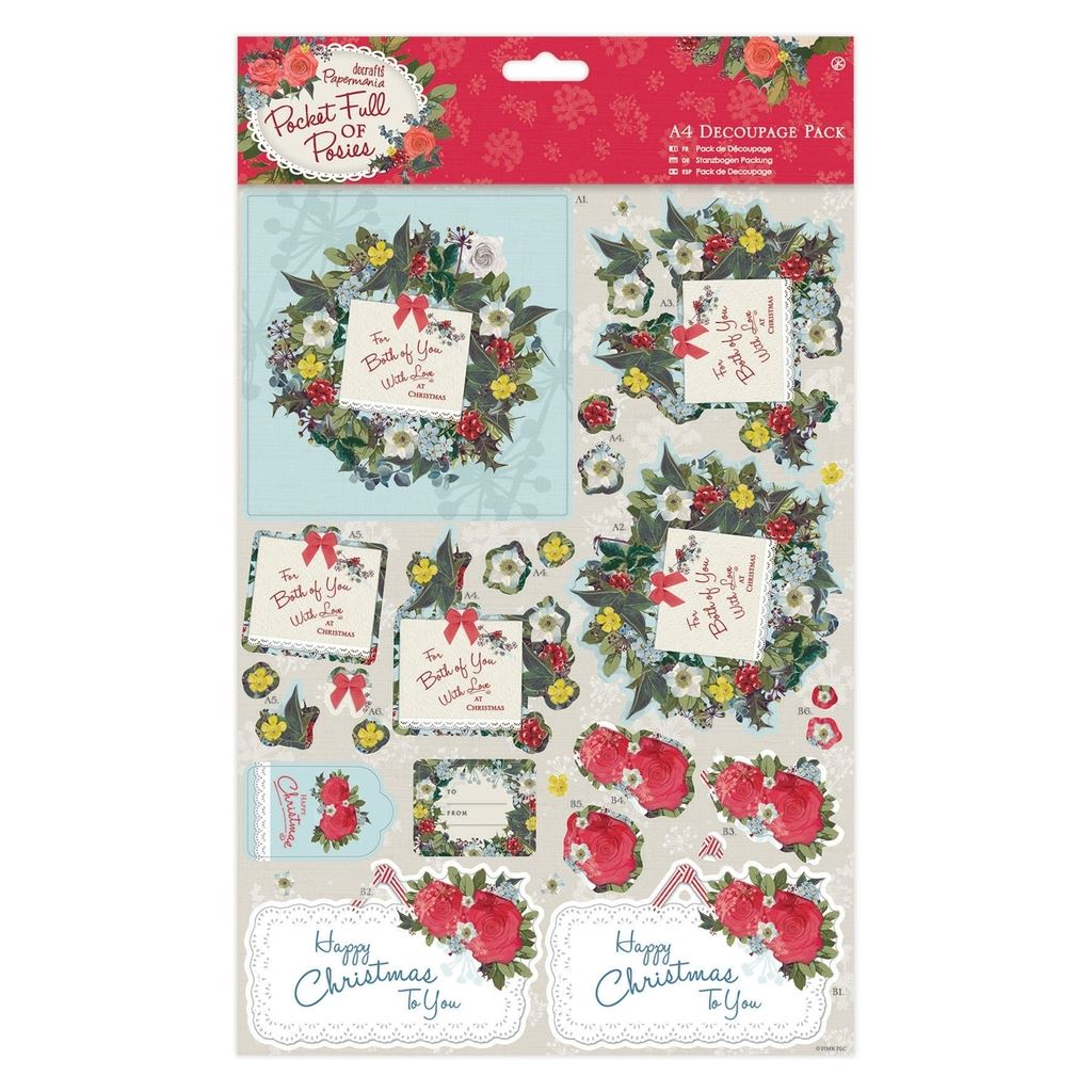 Clearance decoupage sets scrapbooking paper card for Clearance craft supplies sale