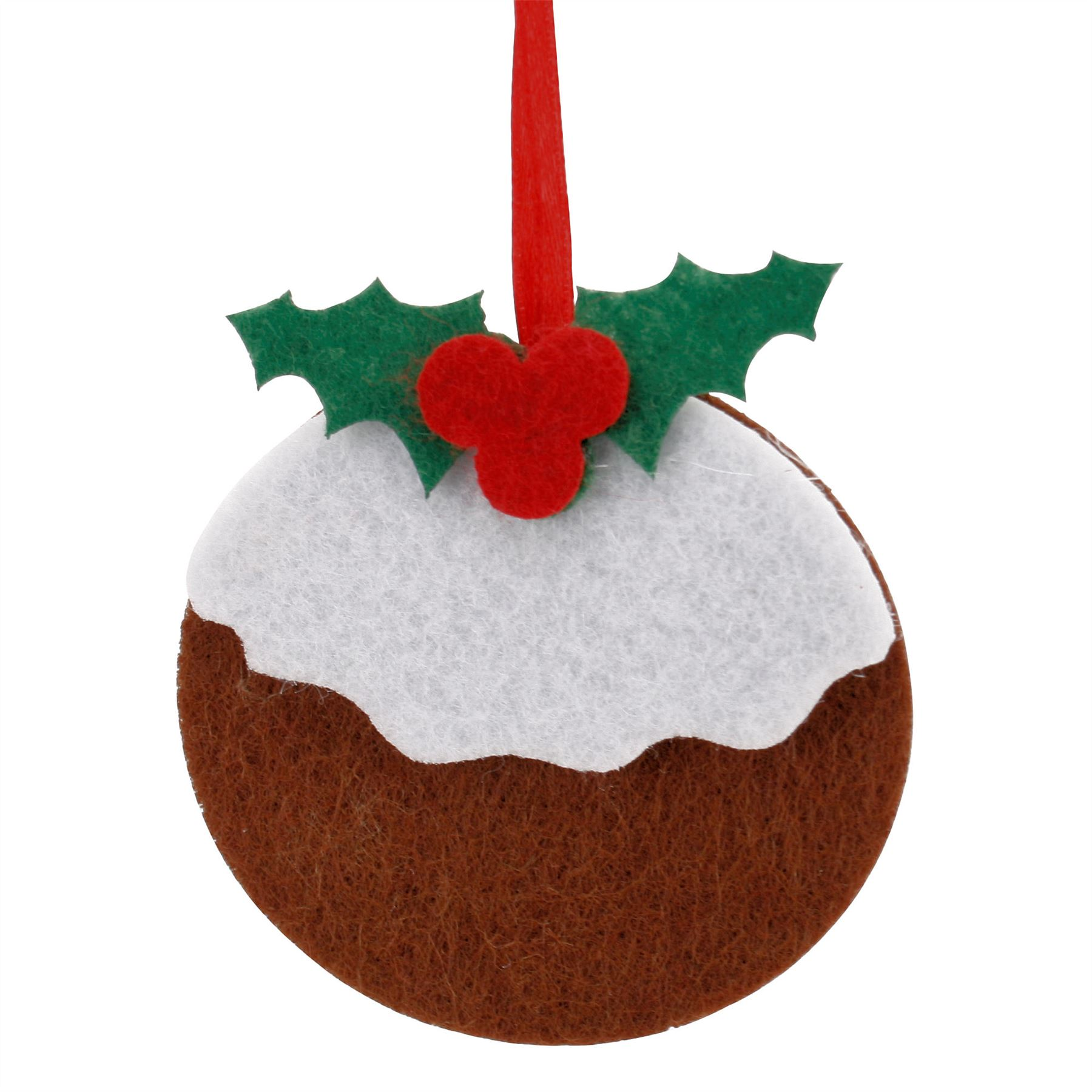 Lots of FELT FABRIC CHRISTMAS TREE HANGING DECORATIONS ...