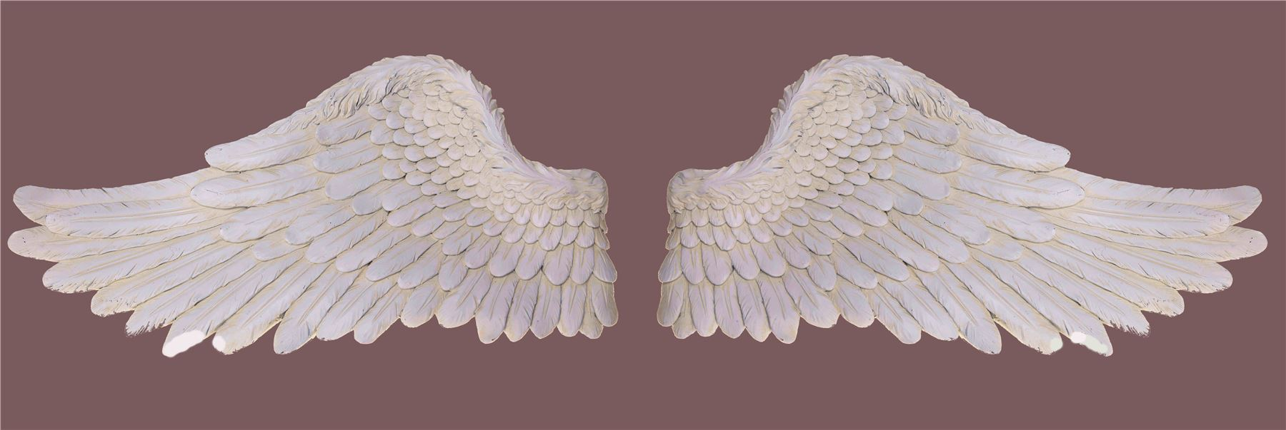 Large wall art wings sculpture feature angel roman huge for Angel wings wall decoration uk