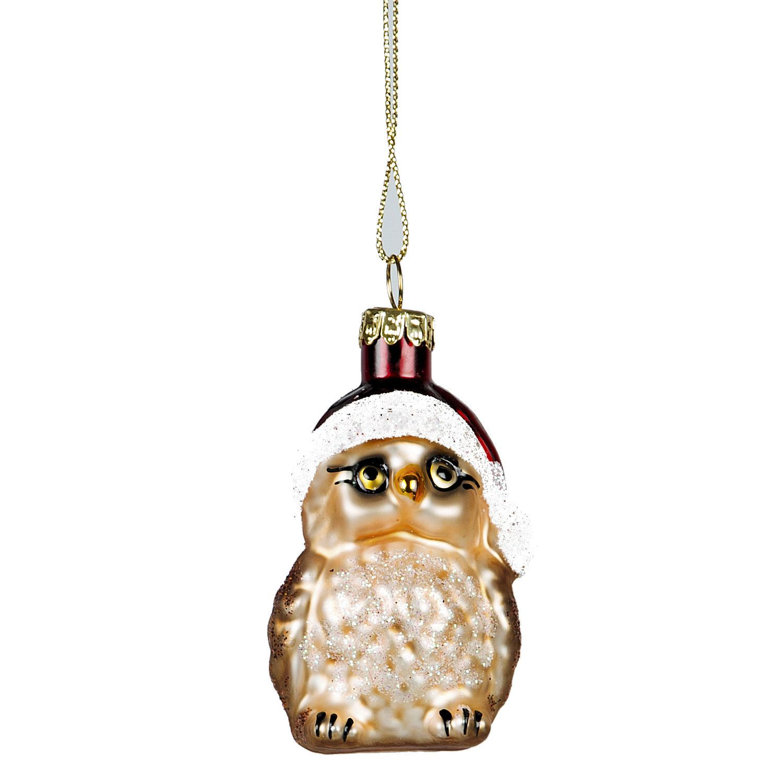 New Kitsch Glass Animal Christmas Tree Decorations Vtg