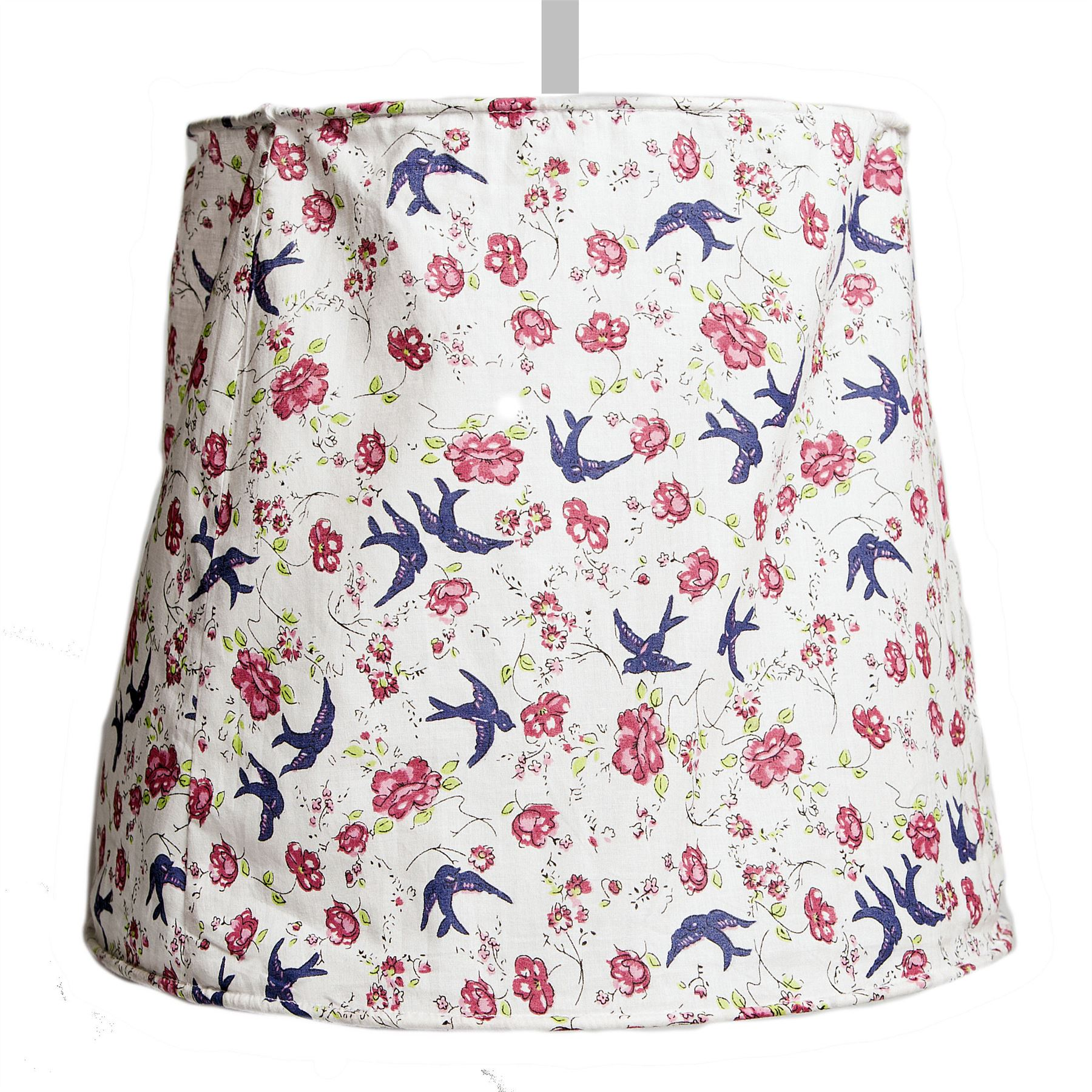 FABRIC CEILING LIGHT LAMP SHADE VINTAGE SHABBY ROSE FLORAL BEDROOM CHIC  eBay
