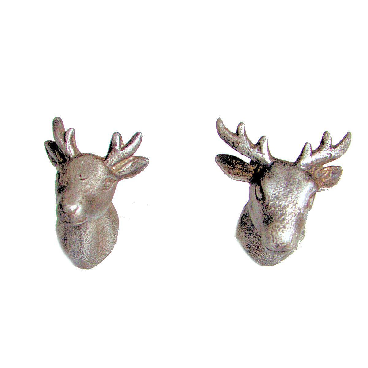 Mr Amp Mrs Stag Deer Metal Door Knobs Furniture Animal